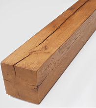 Classic Oak Fireplace Beam - Medium Oak Finish