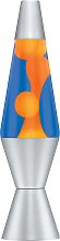 Classic Orange and Blue Lava Lamp.