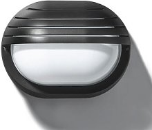 Classic outdoor wall lamp EKO 19 GRILL, black
