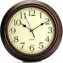 Classic Quartz Decorative Wall Clock With No