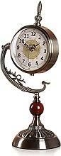 Classic Retro Alarm Clock Clock Battery Operated