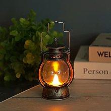 Classic Retro Petroleum Lamp, Portable LED Candle