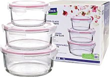 Classic Round 6 Piece Food Storage Container Set