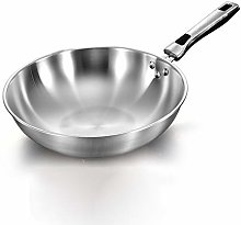CLASSIC STAINLESS STEEL WOK - Non-Stick 304