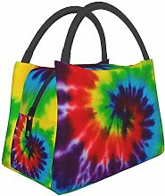 Classic Tie Dye Lunch Bag Insulated Lunch Tote
