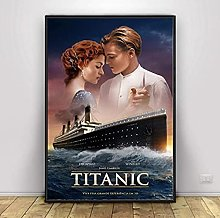 Classic Titanic Movie Poster And Prints Wall Art
