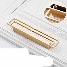 Classical Cabinet Vintage Brass Hollow Handles for