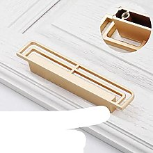 Classical Handle Solid Brass Black Gold Vintage
