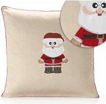 Claus Cream Cushion Cover 18' Bed Sofa