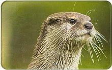 Clawed Otter Welcome Door Mat Indoor Outdoor