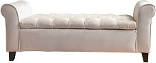 Claxton Upholstered Storage Bench Ophelia & Co.