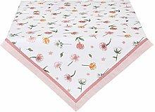 Clayre & Eef ASD03 Tablecloth Pink / Orange /