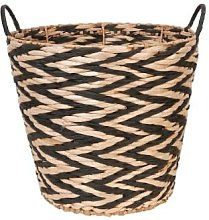 clayre & Eef - Natural Fibers Basket with Two