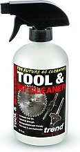 Clean/500 532 Ml Tool And Bit Cleaner - White -