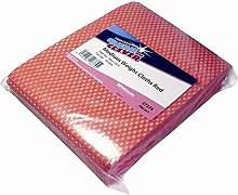 Clean and Clever Cleaning Cloth MW50 Red 50x38cm