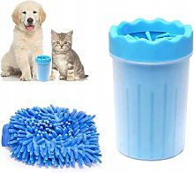 Cleaner for dog paws, animal leg cleaner with