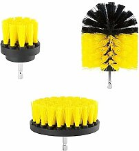 Cleaning Brush 3Pcs/Set Electric Scrubber Brush