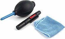 Cleaning Cloth Brush and Air Blower In 1 Set