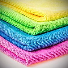 Cleaning Cloths, Microfibre, 20 Pack, Pink-