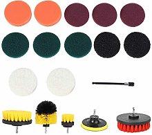 Cleaning Scrub Brush Kit, Power Brush Drill
