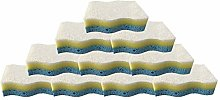 Cleaning Sponge Three Layers Magic Scrub Sponges