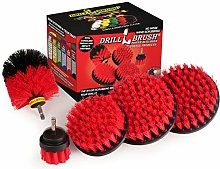 Cleaning Supplies - Drill Brush - Bird Bath -