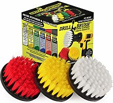 Cleaning Supplies - Drill Brush - Soft, Medium,