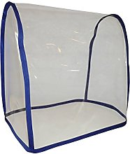 Clear Cobalt Blue PVC Food Mixer Appliance Cover