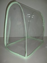 Clear Pistachio Green PVC Food Mixer Appliance