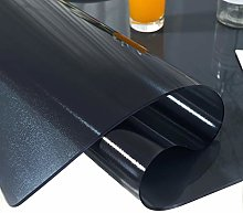 Clear Rectangle PVC Chair Mat Protector 1.5mm