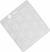 Clear Stencil Plastic Quilting Template Quilt Tool