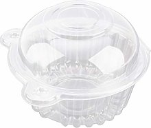 Clear Transparent Muffin/Cupcake Box Holder