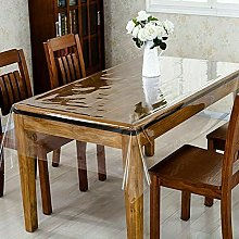 Clear Transparent PVC Tablecloth Table Protector