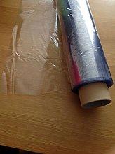 Clear Transparent PVC Vinyl Wipe Clean Oilcloth