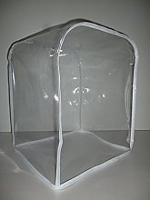 Clear White PVC 6-Quart Stand Mixer Cover.