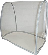 Clear White PVC Food Mixer Appliance Cover 4.8L