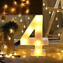 Clearance! Number Light LED Digital Lights Sign
