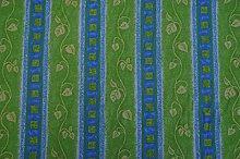 CLEARANCE Prestige Fabrics Lorenzo Green/Blue