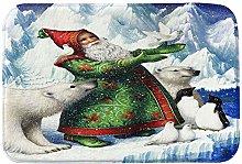 Clearance! Rugs LEEDY Christmas Useful Non-Slip