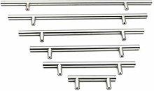 ClearloveWL Drawer handles, 4 Pieces 50mm-500mm
