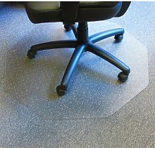 Cleartex Hard Floor Straight Edge Chair Mat