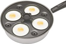 Clearview 4 Hole Nonstick Egg Boiler KitchenCraft