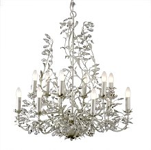 Clemmer 12-Light Candle-Style Chandelier Astoria