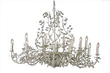 Clemmer 18-Light Candle-Style Chandelier Astoria