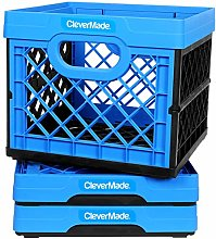 CleverMade Utility Totes, 25 Liters Stackable