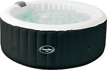 CleverSpa Onyx 4 Person Hot Tub - Home Delivery
