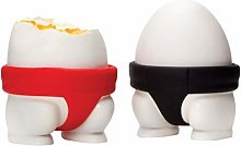 CLFYOU Egg tray-2PCS Sumo Eggs Cup Holders Egg