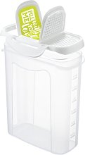 Click and Lock 1500ml Kitchen Canister (Set of 4)