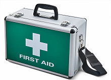 Click - CLICK MEDICAL LARGE ALUMINIUM FIRST AID