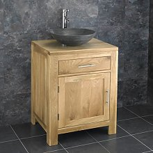 clickbasin Alta 60cm Wide Single Door Vanity